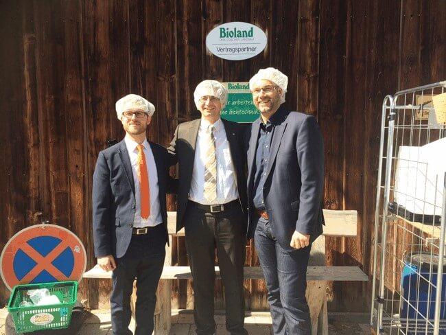 Firmenbesichtigung bei der Bioschaukäserei Wiggensbach