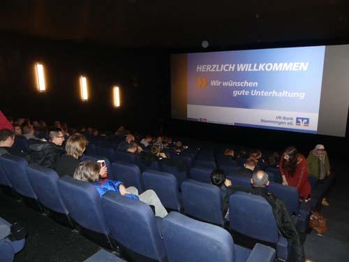 Kinoveranstaltung VR-Bank Memmingen eG