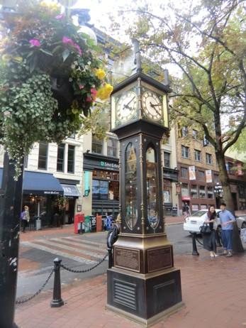 Dampfuhr in Gastown, Vancouver