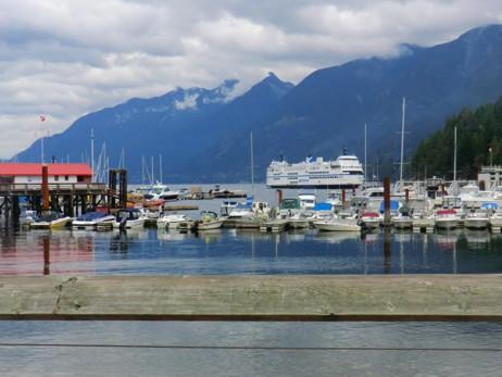 Fährhafen bei Vancouver