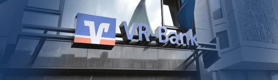 Schriftzug VR-Bank Memmingen eG
