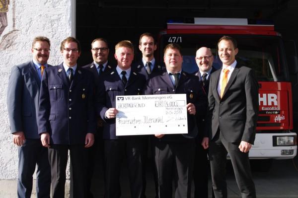 Spende an die Feuerwehren aus dem Illerwinkel