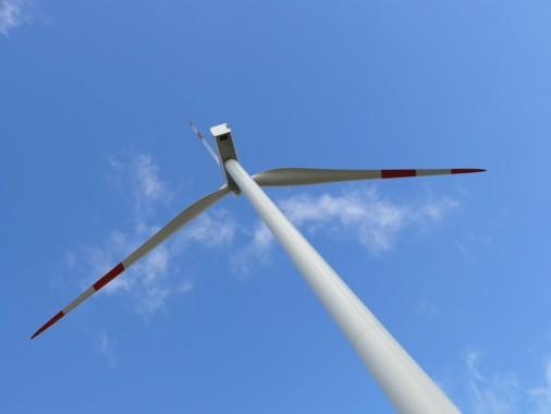 Windkraftanlage Hoppberg 1- VR-Bank Memmingen eG