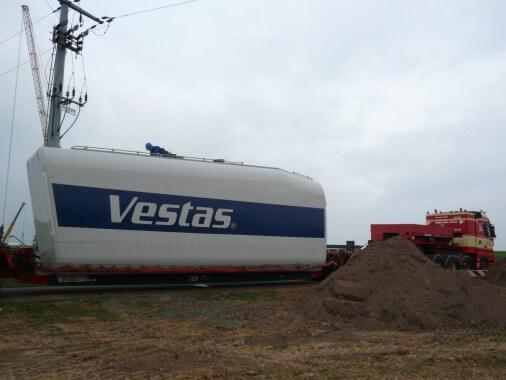 Vestas Windkraftanlage Lohberg
