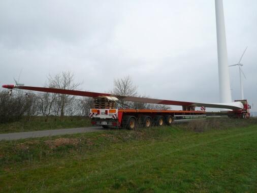 Rotorblatt Windkraftanlage Lohberg