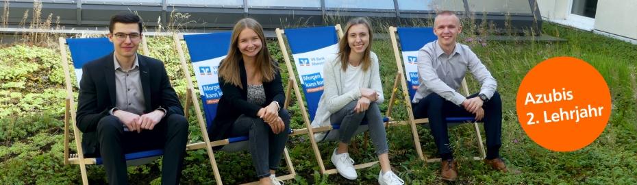 Auszubildende - 1. Lehrjahr VR-Bank Memmingen eG